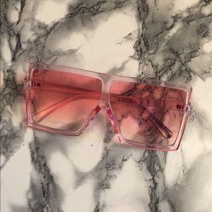 Sunglasses large candy frames